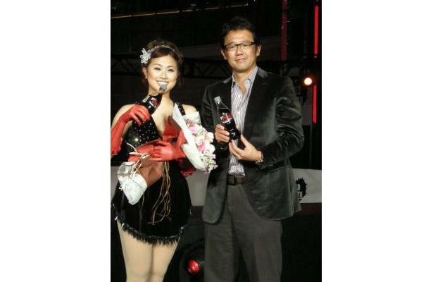 太田さんの演技に古田さんも感動!惜しみない拍手を送っていた