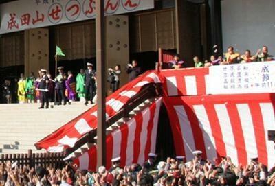 豪華な顔ぶれが勢ぞろい!成田山新勝寺の節分会
