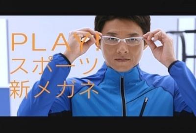 眼鏡市場のCMに起用されることになった松岡修造は、気合い十分で撮影に臨む 眼鏡市場のCMに起用さ
