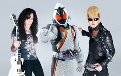 綾小路翔、マーティ・フリードマン、仮面ライダーフォーゼが最強のコンビネーションを見せる!