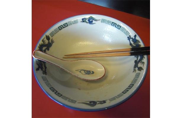 もちろん今回も、スープも残さず完食。ごちそうさまでした!