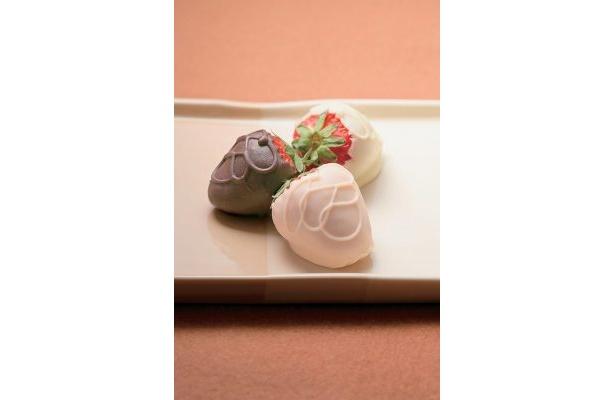 ちびっこいちごのちびっこいちごチョコ(8粒入1050円)