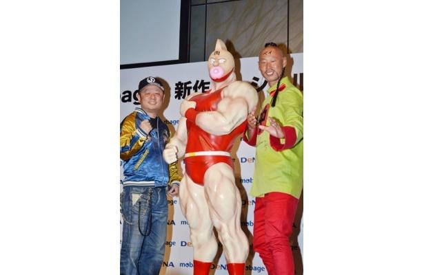 横浜DeNAベイスターズの森本選手とゆでたまごの原作担当・嶋田隆司先生が登壇!