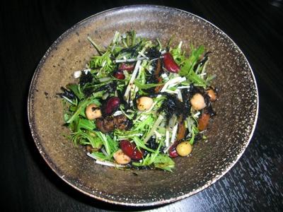 野菜もたっぷり摂って!「水菜とヒジキの健康サラダ」