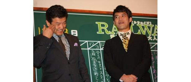 『RAILWAYS 愛を伝えられない大人たちへ』の初日舞台挨拶で三浦友和と貴大親子が初共演!