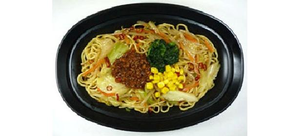 「焼らーめん(味噌味)」(398円)北海道産の赤味噌・白味噌をブレンドした味噌らーめんスープ仕立て
