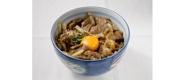 「松葉寿司」淡路特選牛丼(香物、赤だし付き)¥1575