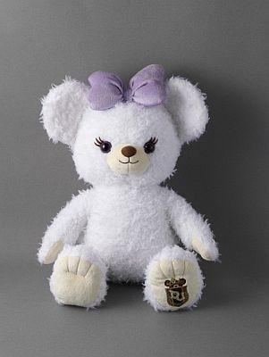「UniBEARsity Puffy」プラッシュ3000円、プラッシュキーチェーン1300円