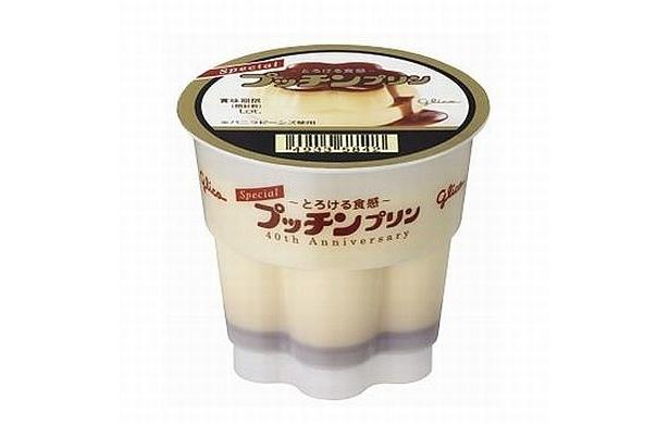 来年1/9から順次発売されるグリコ「Specialプッチンプリン~とろける食感~」(158円/105g)