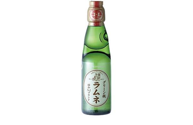 昭和No.1グリーン瓶のラムネ