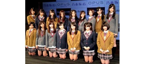 イベントに登場した乃木坂46クリスマス選抜メンバー16名