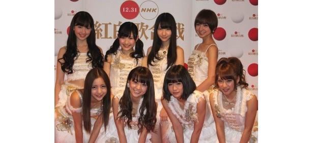 AKB48が紅白歌合戦のリハーサルに登場