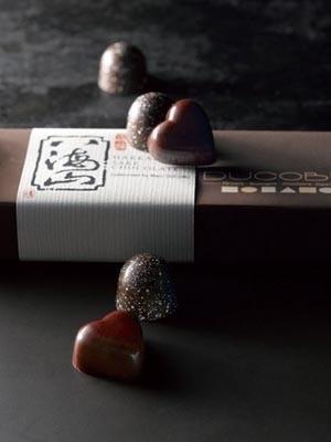 新潟の名酒「八海山吟醸酒」が入った「MD八海山アソート5」(5個入り、1890円)