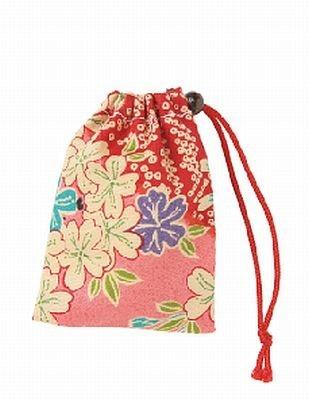 「東寺」の「愛染さんからの一言おみくじ」は多彩な模様の袋に入っている