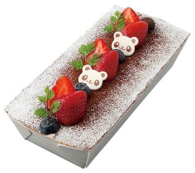 「ドルチェ フェリーチェ」の「苺のパンダティラミス」(900円)