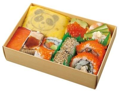 「築地 寿司岩」の「パンダフル寿司」(1000円)