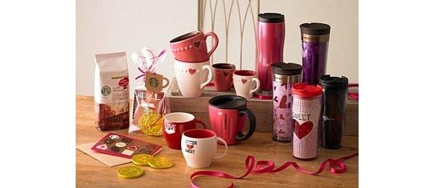 1/11から全国のスターバックスで展開中の「&Coffee Valentine」