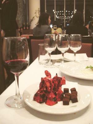 生チョコには豪州産ワインが好相性!