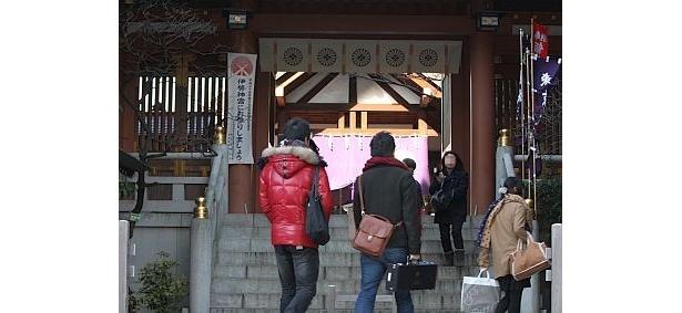 東京大神宮の参道