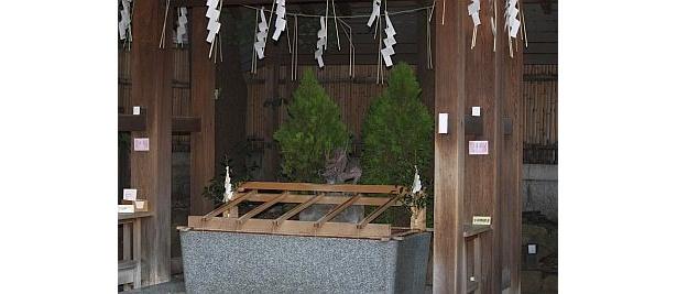 東京大神宮の手水舎