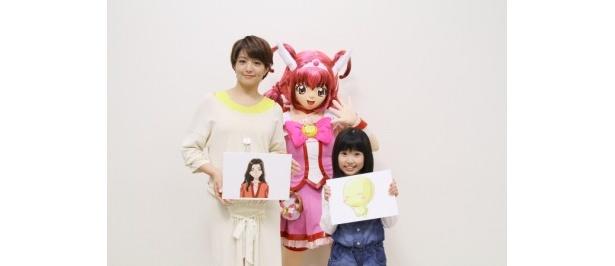 『プリキュアオールスターズ』でゲスト声優として出演する赤江珠緒アナと熊田聖亜