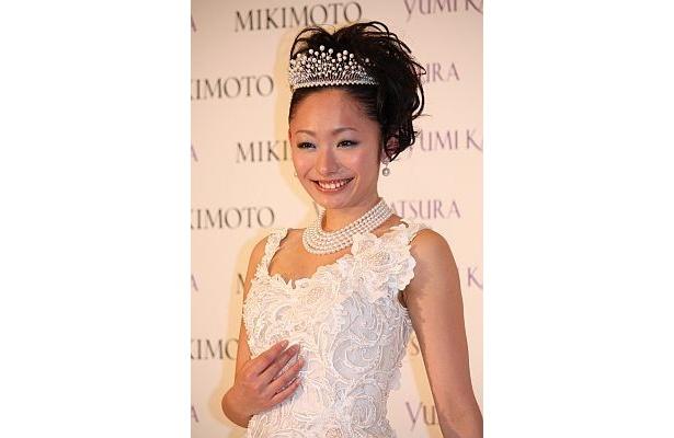 美姫 ドレス 安藤
