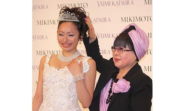 桂由美さんとツーショット