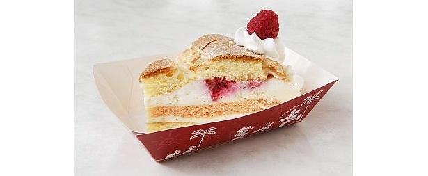 「スウィートハート・カフェ」の「フランボワーズのクリームケーキ」(350円)