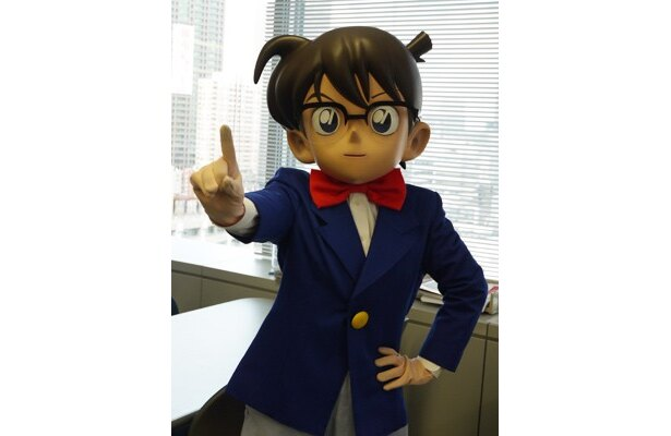 週刊少年サンデーで連載中の「名探偵コナン」の主人公コナン君!