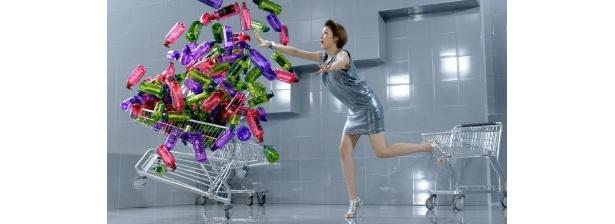 あまりの嬉しさから、ショッピングカートに山積みしてしまう