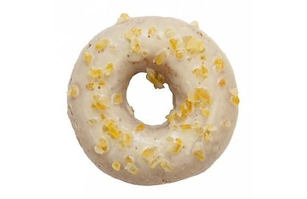 はらドーナッツ×リラックマのコラボドーナッツが発売!「レモンホワイト」(180円)