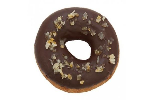 【写真】はらドーナッツとリラックマがコラボ!もう1種類の「レモンチョコ」(180円)