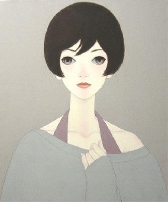 「あこがれ」(金子奈央)高さ約6mの巨大な絵画
