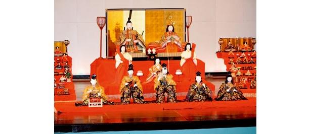 日本最大の享保雛