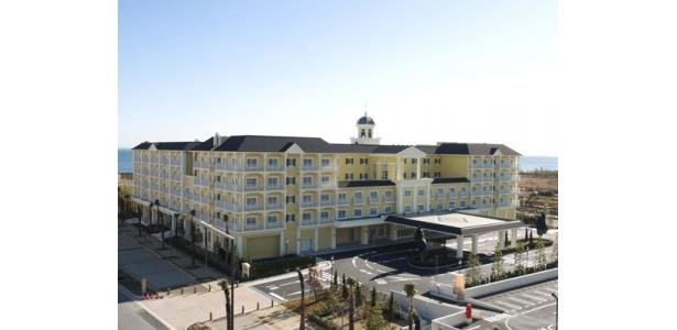 ファウンテンテラスホテルの外観