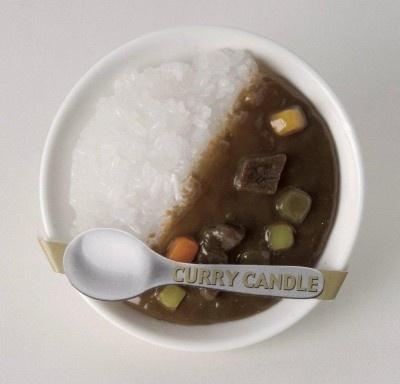 みんな大好き!「カレーキャンドル」(525円)
