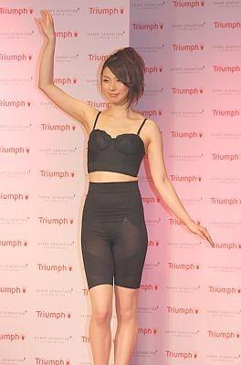 「ボディラインを美しく見せる下着」という新しいカテゴリーの商品「トリンプ シェイプセンセーション」