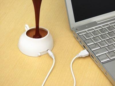 パソコンのUSB電源で使える、思わず食べてしまいそう