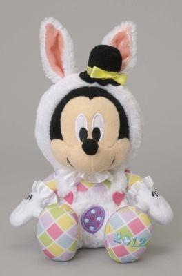 ミッキーが着ぐるみを着てウサギに大変身!ぬいぐるみ(2000円)
