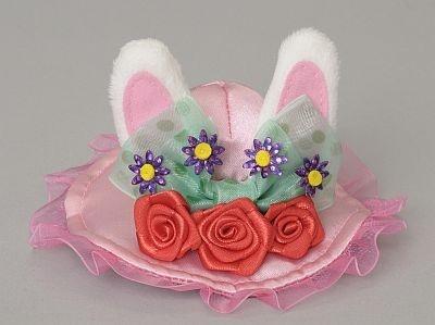ピンで留められる小さなウサギのパッチン(850円)
