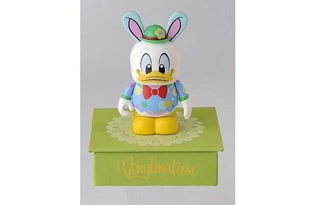 ドナルドもウサギの耳を付けたイースター仕様に(1200円)
