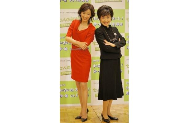 【写真】新昼ドラで真琴つばさと小林幸子がPTAバトルを!