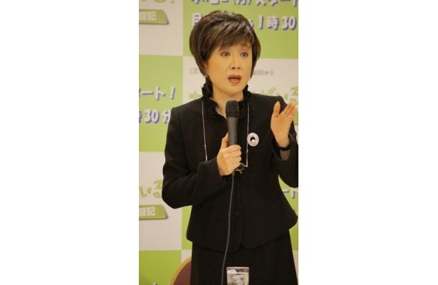 小林幸子はPTA会長・上条圭子役を演じる