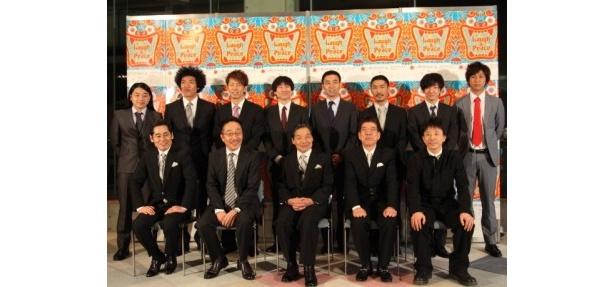 「第4回沖縄国際映画祭」での「お笑い芸人と東日本大震災~よしもとあおぞら花月~」上映に大勢の芸人が駆け付けた