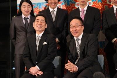 中田カウスは被災地で舞台を務めることへのためらいを熱のこもった言葉で語った
