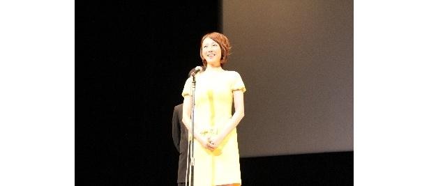 進の母親で、沖田大和(AKIRA)の元恋人役を演じたちすん