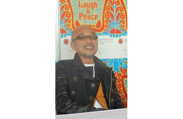 【写真】竹中監督が「レッドカーペットは二度と歩きたくない!」とシャイな一面を見せた会見の様子