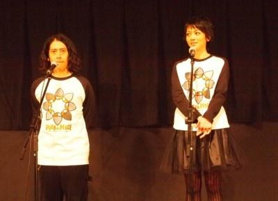 舞台あいさつ前日夜に沖縄入りしたという遠藤久美子