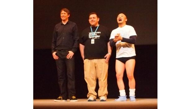 「第4回沖縄国際映画祭」で『アタック・ザ・ブロック』の上映と舞台あいさつが行われた