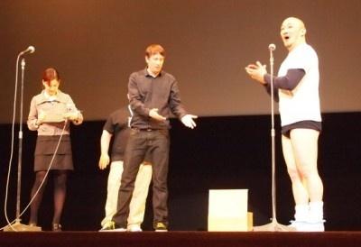 【写真】舞台あいさつの模様をチェック!監督、役者とくまだが軽妙なやり取りで観衆を沸かせた
